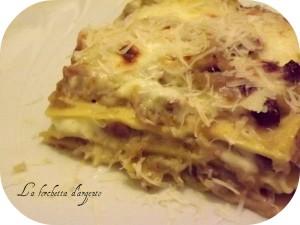 lasagna con verza