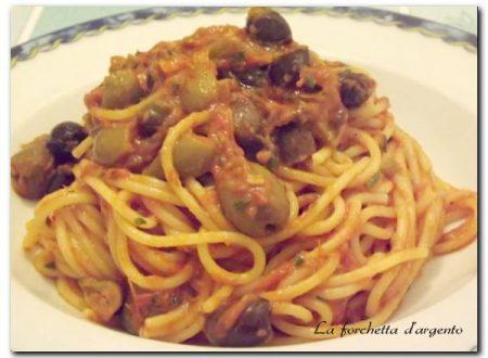 spaghetti alla puttanesca..