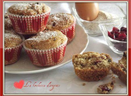 Muffin di grano saraceno, cioccolato e mirtilli…