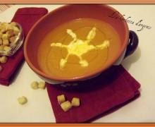 Crema di zucca gialla, carote e zenzero…