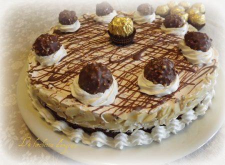 Torta ferrero rocher…Auguri mamma…