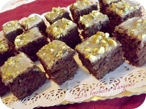 dolcetti al cioccolato glasati