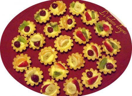 Tartellette alla frutta…