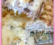 Lasagne veloci al pane e funghi..