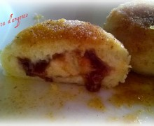 Gnocchi di marmellata di susine..