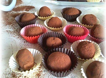 Tartufini al cioccolato..