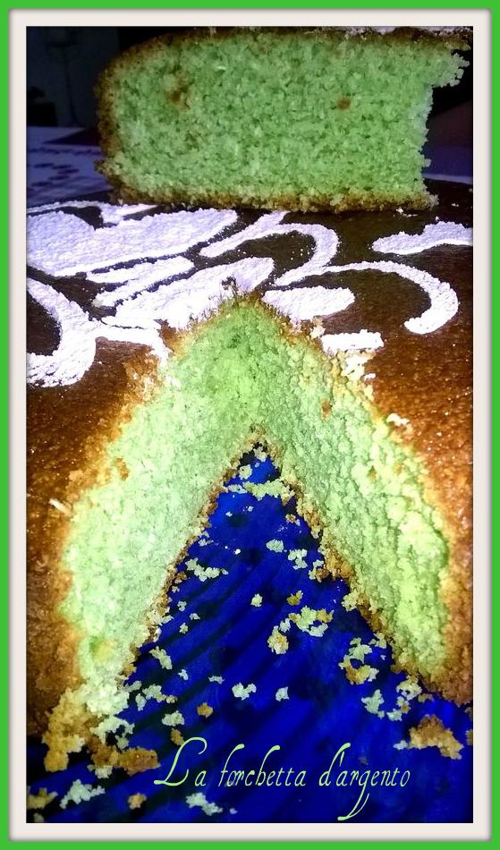torta cocco menta