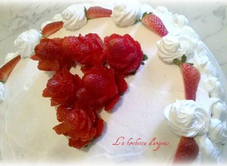torta rose per mia sorella..