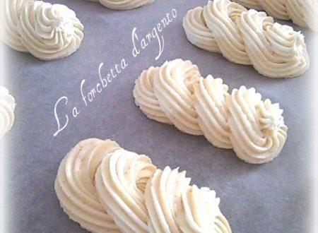 Biscotti Viennesi alla vaniglia..