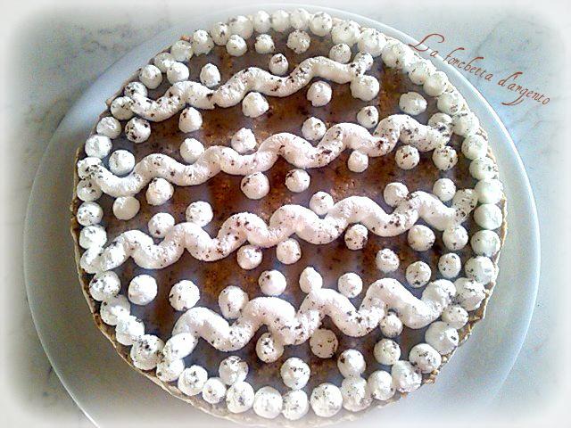 cheesecake caffè e panna