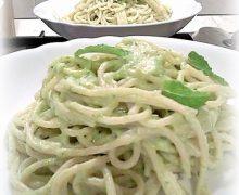 Spaghetti zucchine e menta..